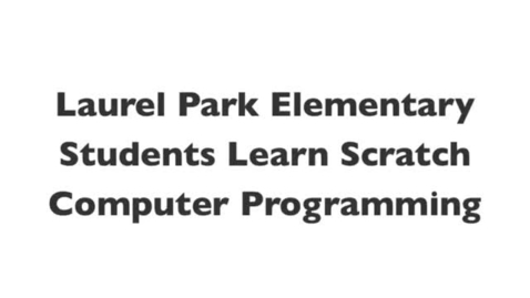 Thumbnail for entry Scratch Day @ Laurel Park 2012 - WCPSS