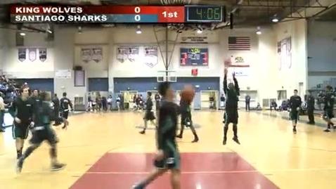 Thumbnail for entry King vs. Santiago Basketball Game 01-17-2013