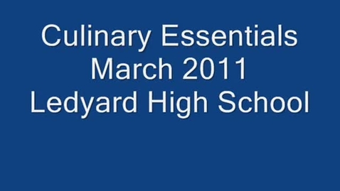 Thumbnail for entry Culinary Essentials March 2011
