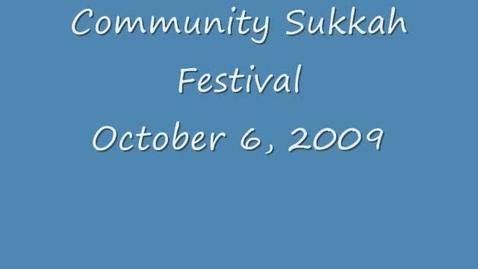 Thumbnail for entry Community Sukkah Festival