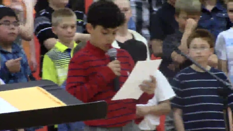 Thumbnail for entry Rock Ledge Fifth Grade Spring Music concert  - part 6