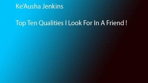 Thumbnail for entry Keausha's Top 10 Human Traits