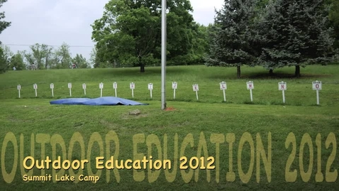 Thumbnail for entry MHMS 6th Grade OutdoorEd 2012