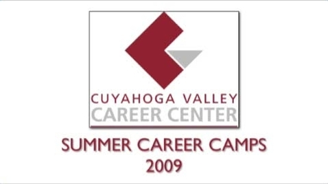 Thumbnail for entry CVCC Summer Camps 2009