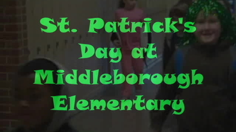 Thumbnail for entry St. Patrick's Day Fun