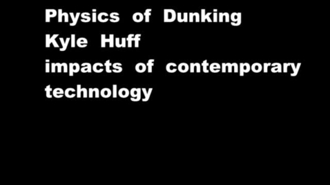 Thumbnail for entry The Physics of Dunking