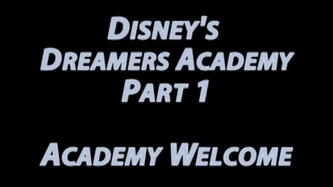 Thumbnail for entry Damon Weaver at the Welcome Address of the Disney's Dreamers Academy with Steve Harvey
