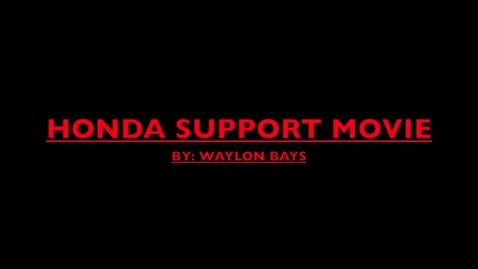 Thumbnail for entry HONDA MOVIE