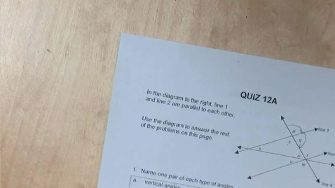 Thumbnail for entry SP12 - Answers to The Pythagorean Theorem Worksheet and Lesson 12.2b