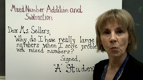 Thumbnail for entry Mixed Number Addition and Subtraction