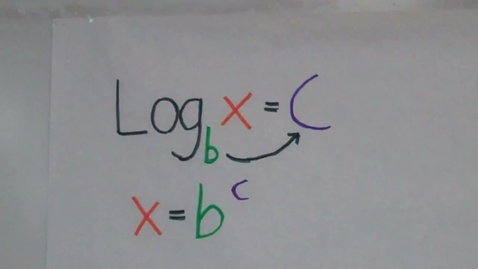 Thumbnail for entry Solving Logarithmic Equations using Exponentials