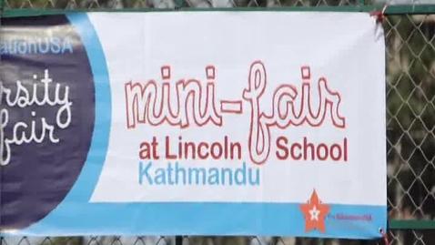 Thumbnail for entry Mini Fair at Lincoln School Kathmandu,Nepal
