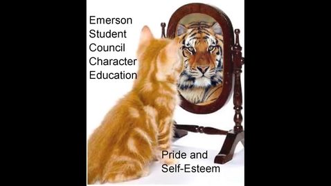 Thumbnail for entry Emerson Character Education: Pride and Self-Esteem