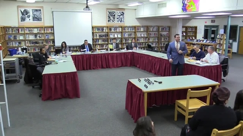 Thumbnail for entry Hackettstown Board of Education Meeting - December 14th, 2016