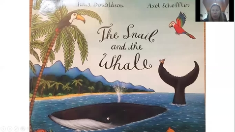 Thumbnail for entry The Snail and the Whale read by Mrs Lothian