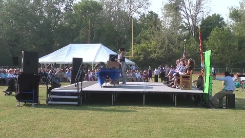 Thumbnail for entry  Ladue High School 2013 Graduation Ceremony - Charge to Class