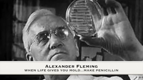 Thumbnail for entry Alexander Fleming Using His Wits