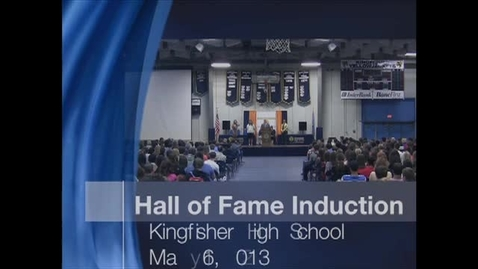 Thumbnail for entry KHS Hall of Fame Induction 2013