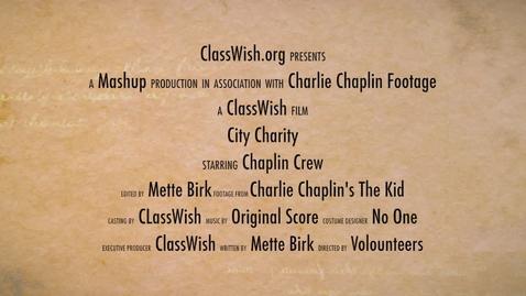 Thumbnail for entry City Charity - Chaplin Mashup