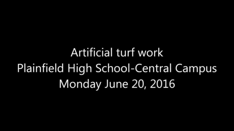 Thumbnail for entry Panoramic view of turf work at PHS-CC, 06.20.2016