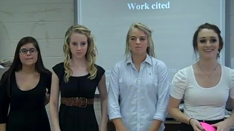 Thumbnail for entry The Scarlet Letter--Crucible Presentations (Fall 2011)