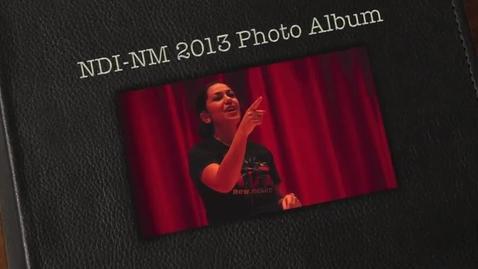 Thumbnail for entry NDI-NM 2013 Photo Album for Hobbs, NM
