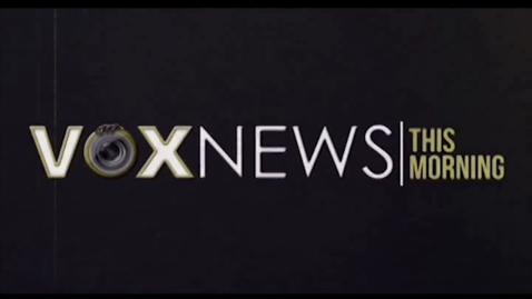 Thumbnail for entry VOX News this Morning for Monday, September 26, 2016