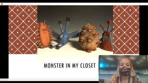 Thumbnail for entry Monster in my closet project presentation
