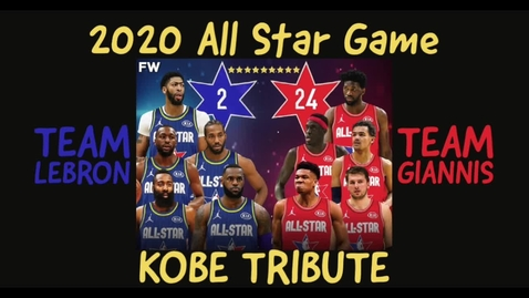 Thumbnail for entry NBA All Star Game