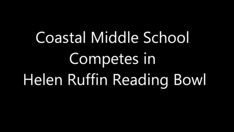 Thumbnail for entry Coastal Middle School HHRB Competition