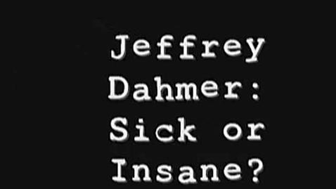 Thumbnail for entry Jeffrey Dahmer