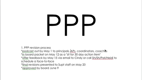 Thumbnail for entry Pupil Progression Plan District