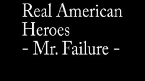 Thumbnail for entry Real American Hero - Mr. Failure - VG2