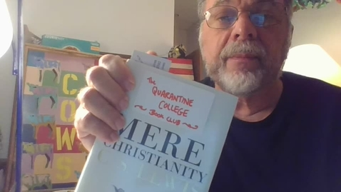 """Thumbnail for entry SENIOR BIBLE: C.S. LEWIS' """"Mere Christianity"""" #3"""