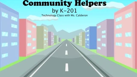 Thumbnail for entry Community Helpers