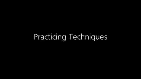 Thumbnail for entry Managing Behavior: Practicing Communication Techniques