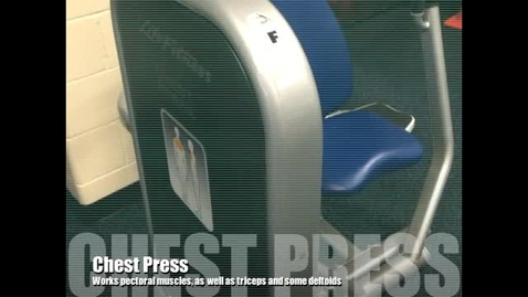 Thumbnail for entry Chest Press Demo