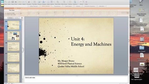 "Thumbnail for entry Ms. Bruno's ""Power"" Lesson (Unit 4: Part 2: Lesson 2)"