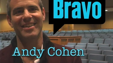 Thumbnail for entry Andy Cohen - Bravo TV