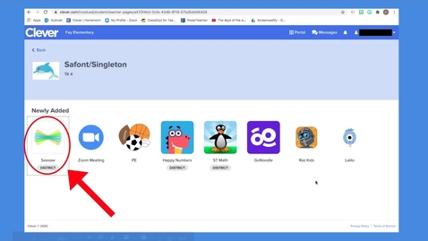 Thumbnail for entry BTSN: How to log into SeeSaw