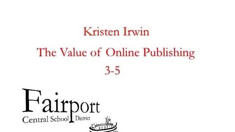 Thumbnail for entry TVT 2011 Kristin Irwin
