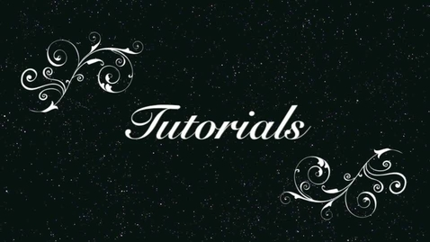 Thumbnail for entry Tutorials Help