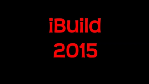 Thumbnail for entry KMS IBuild-5-19-15