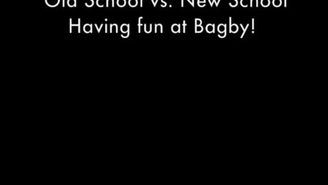 Thumbnail for entry Old School vs. New School