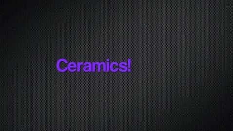 Thumbnail for entry Ceramics: 2012-2013