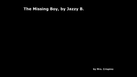 Thumbnail for entry The Missing Boy, by Jazzy B