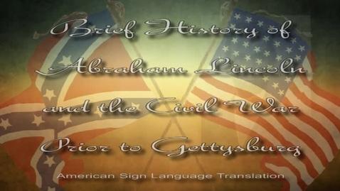 Thumbnail for entry Gettysburg Address