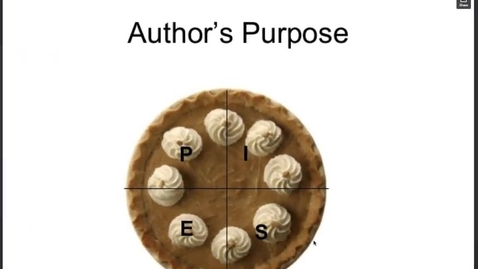 Thumbnail for entry Author's Purpose Lesson & Examples