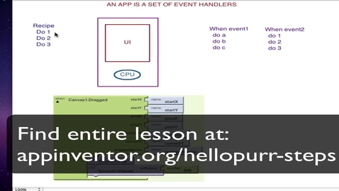 Thumbnail for entry App Inventor Tutorial 1 - Hello Purr - Step 4