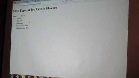 Thumbnail for entry HTML/CSS Video #3